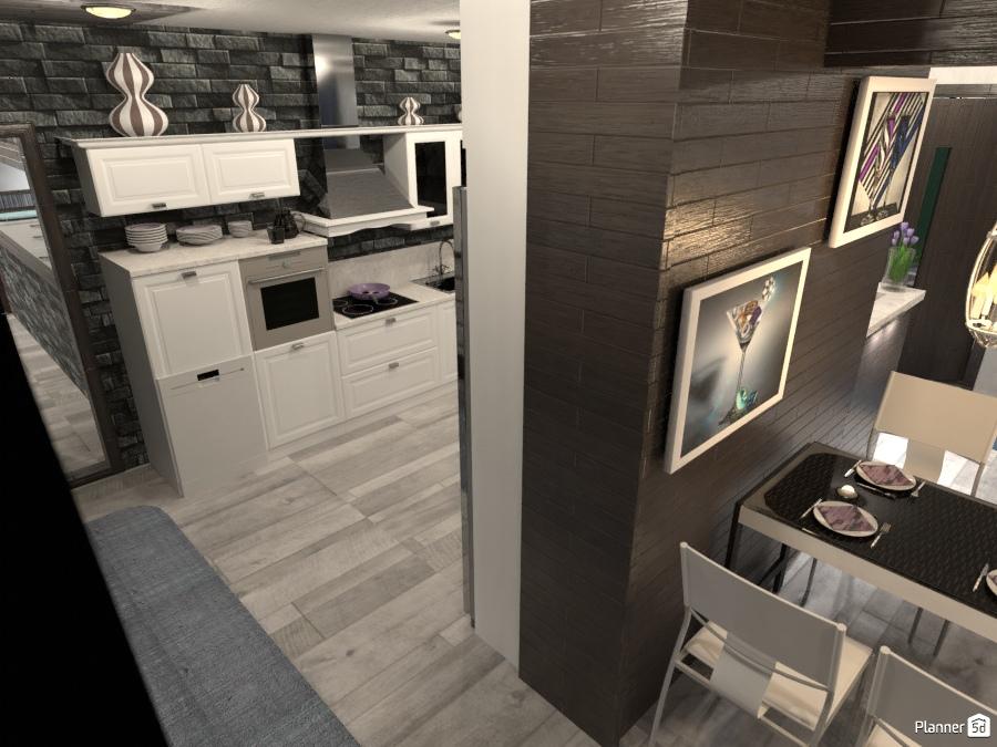 Kitchen Dining Laundry Idee Per Appartamenti Planner 5d