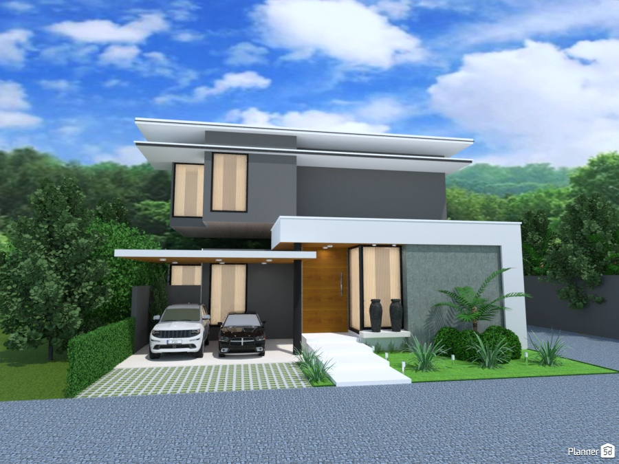 Casa moderna xvii idee per case indipendenti planner d