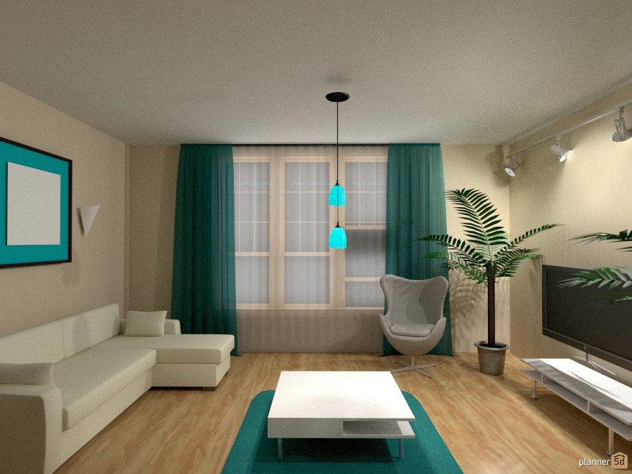 Simple room apartamento ideas planner 5d for Decoracion sala de estar juvenil