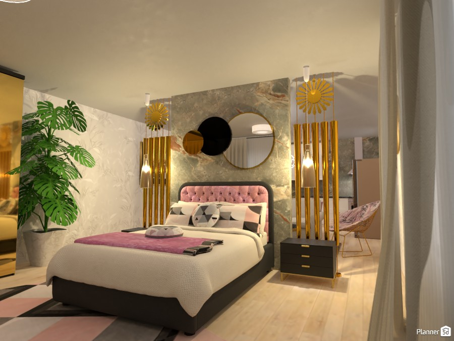 Sunshine Loft: Bed Side 4038588 by Fede Lars image