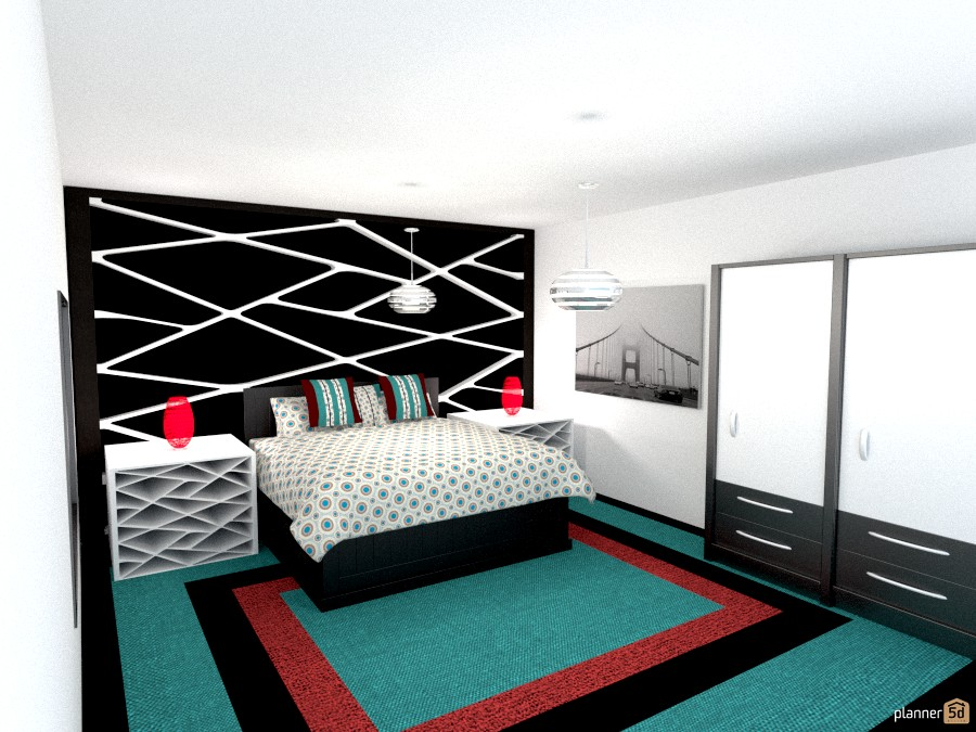 b/w accent wall br 914764 by Joy Suiter image