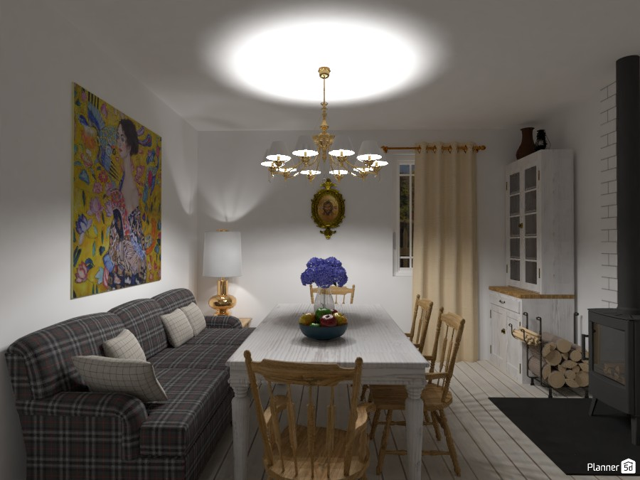 Country House - Autumn retreat / Living room+dining room 3639299 by Lucija Marko image