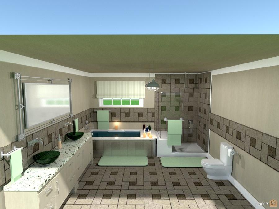 tiled bathroom 1027836 by Joy Suiter image