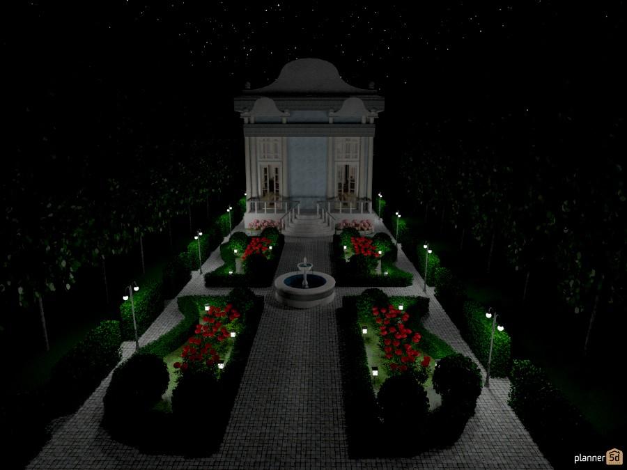 giardino di notte 1034755 by Svetlana Baitchourina image