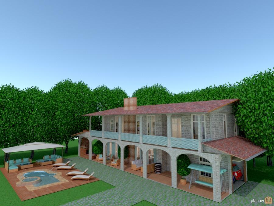 Bagno Shabby Chic Fai Da Te : Shabby chic country house idee per appartamenti planner 5d