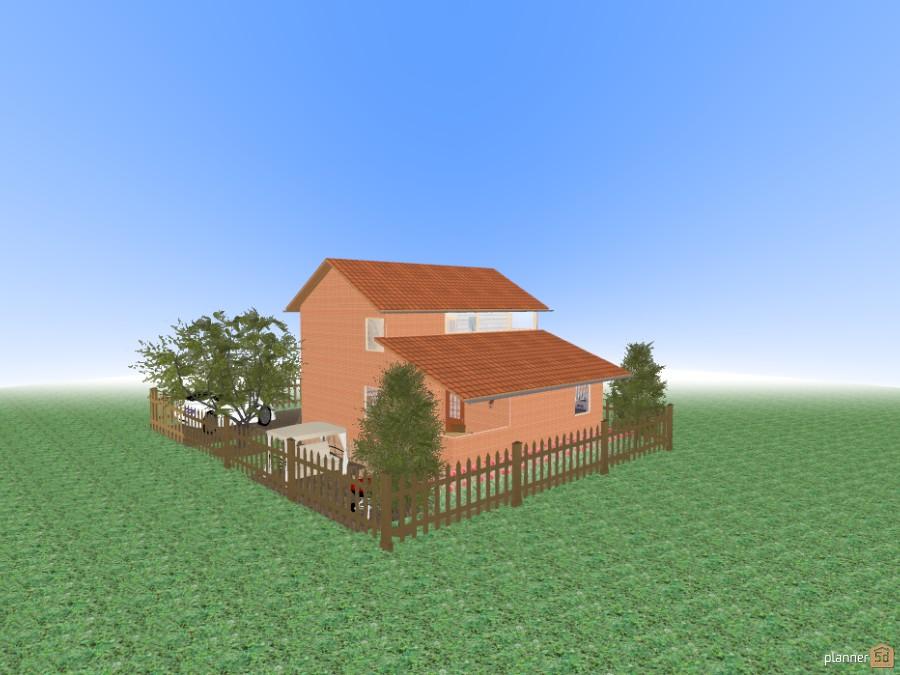 Дом из оранжевого кирпича 47522 by Татьяна Шадрина image