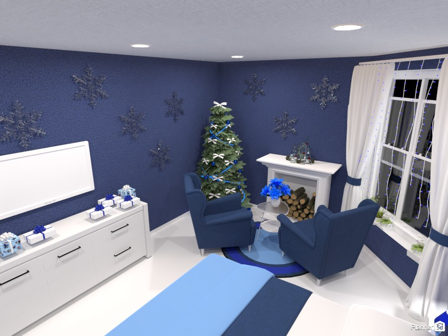Snow Queen Bedroom 3828866 by Maryna image