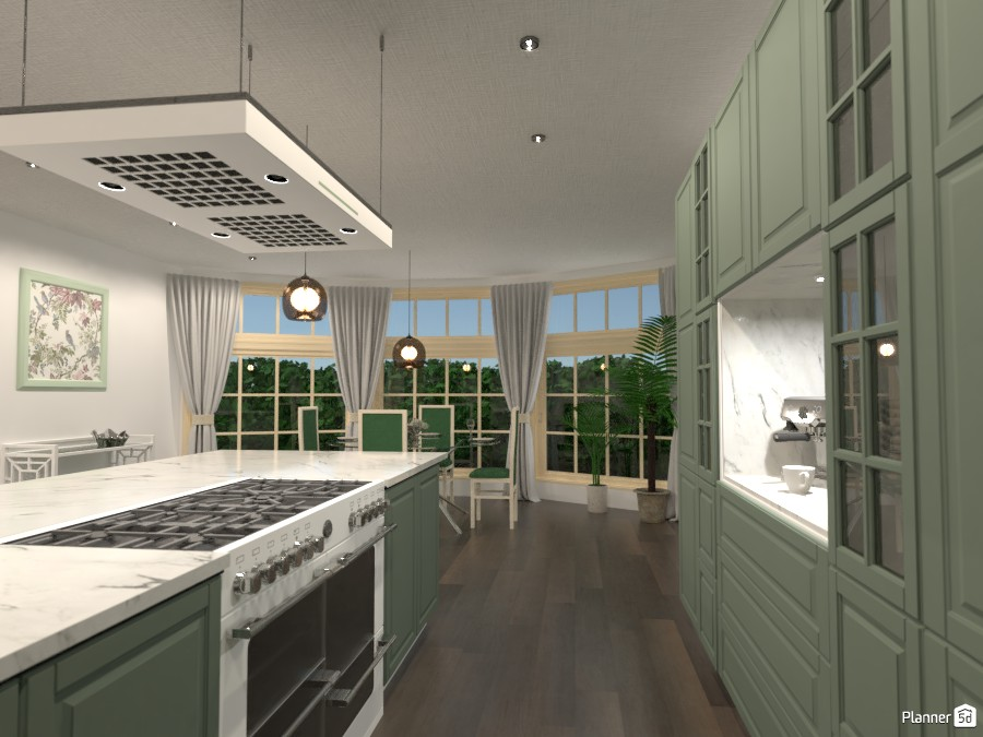 green kitchen 2964365 by Sundis image