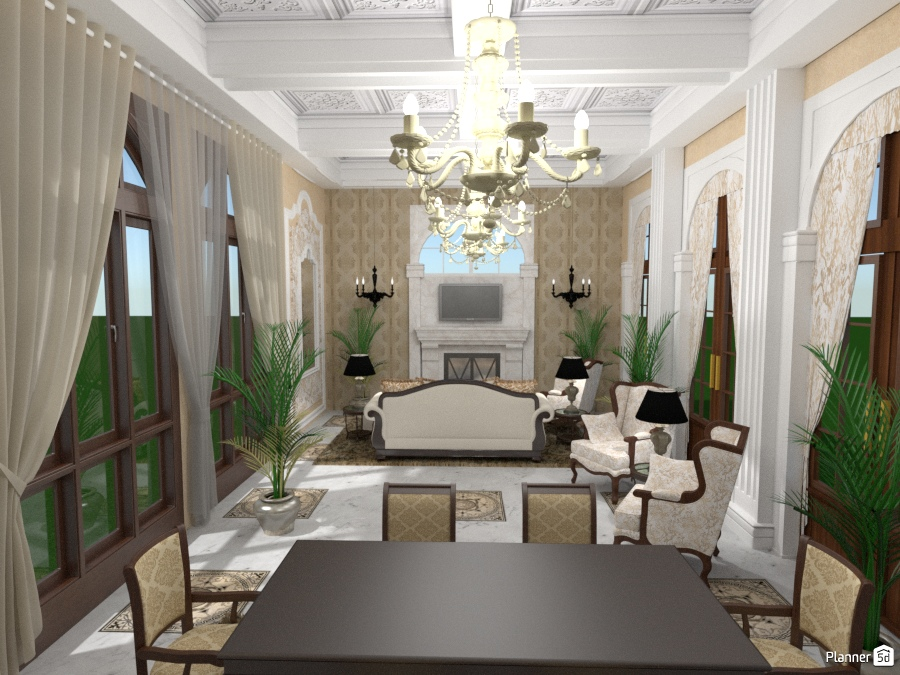 Salone:View - Apartment ideas - Planner 5D