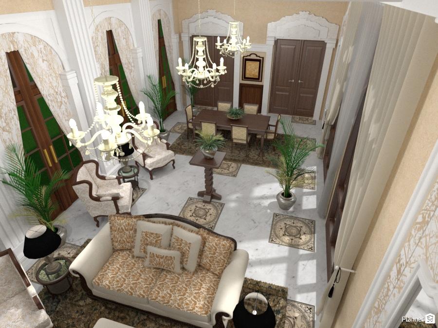 Salone con Living e DIning Room 70081 by Micaela Maccaferri image