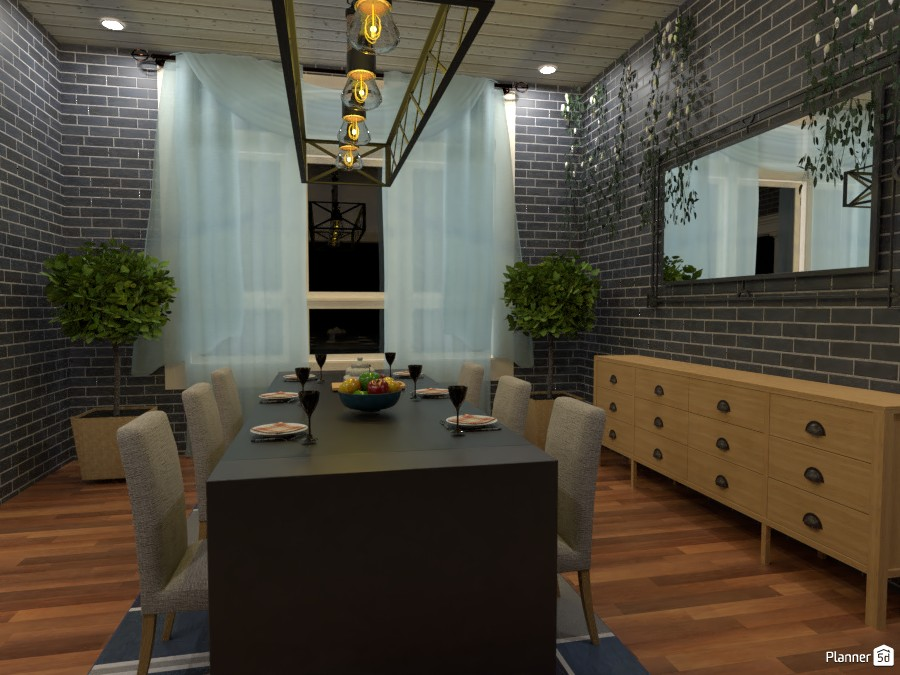 industrial dinning room 3834625 by smile@life image