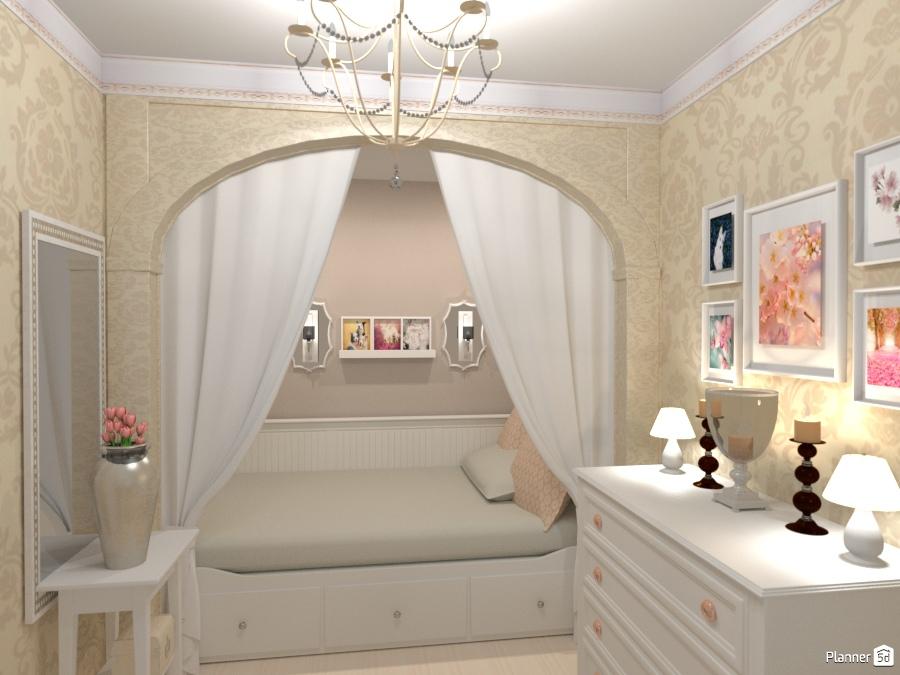 Спальня в хрущевке 65737 by Elena Strenova image