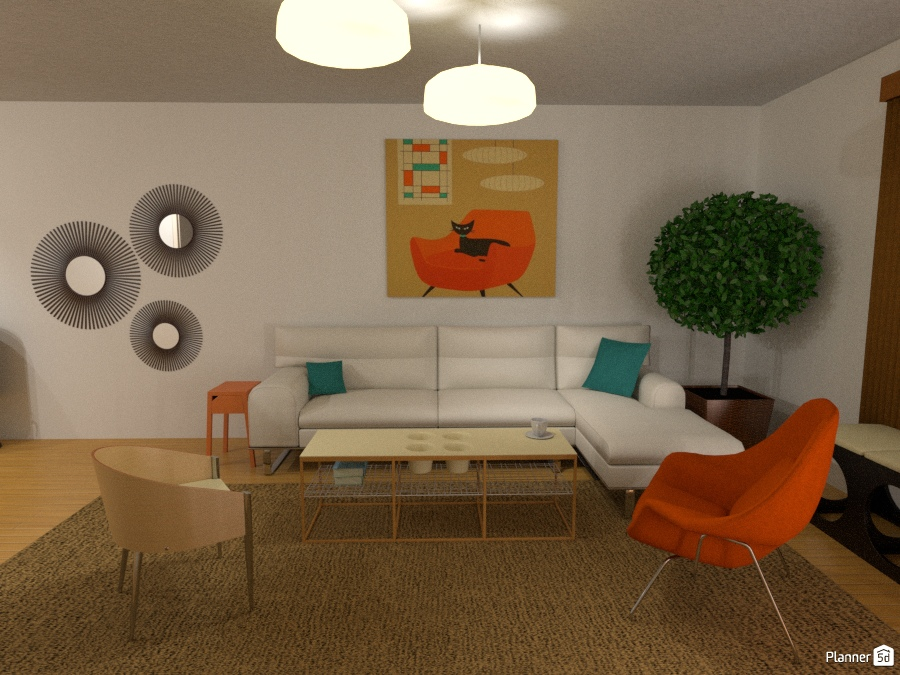 Cozy mid-century modern living Room - Apartment ideas - Planner 5D on vintage eclectic room design ideas, etsy living room ideas, travel living room ideas, mid century living room chair, home living room ideas, lamps living room ideas, mid century decor, mcm living room ideas, vintage modern living room ideas, mid century room design, contemporary modern living room ideas, mod living room ideas, mid century wall colors, steampunk living room ideas, mid century dining room, modern living room decor ideas, mid century mod living rooms, fashion living room ideas, rustic modern living room ideas, thanksgiving living room ideas,