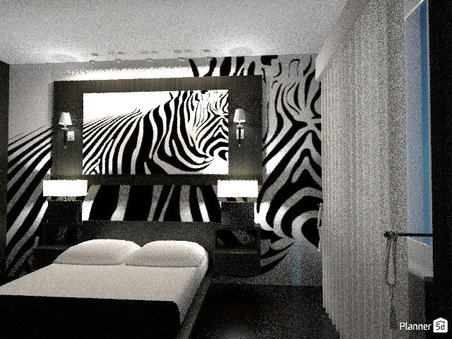 Спальня + гардеробная 66527 by Алсу Сабирова image
