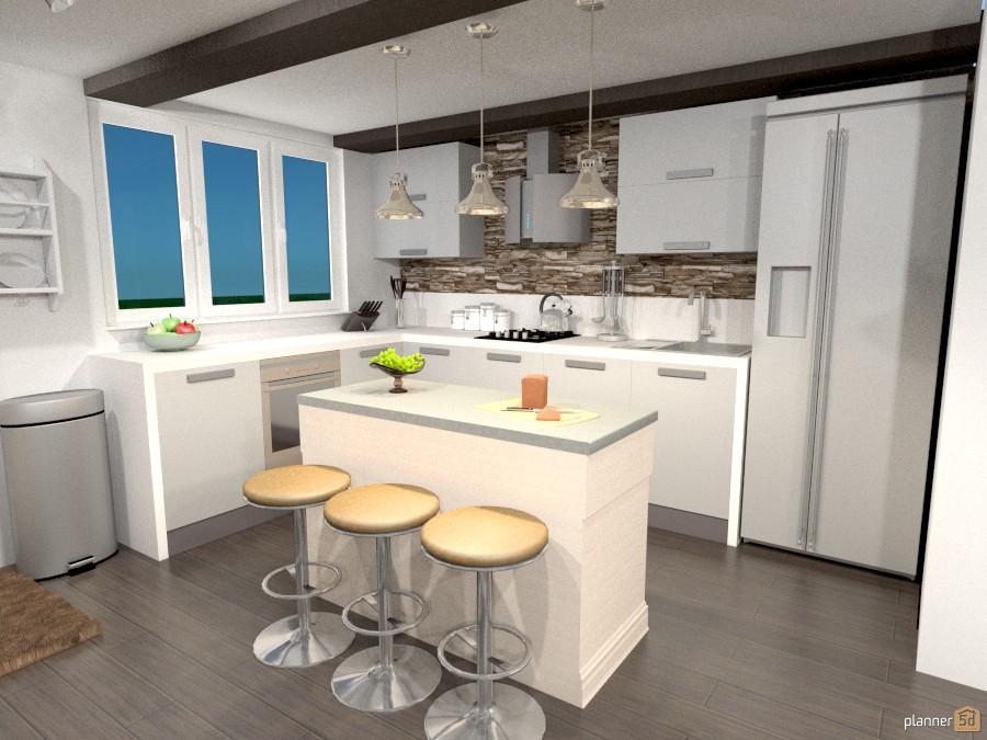 Dad's Condo Reno - Kitchen - Kitchen ideas - Planner 5D on