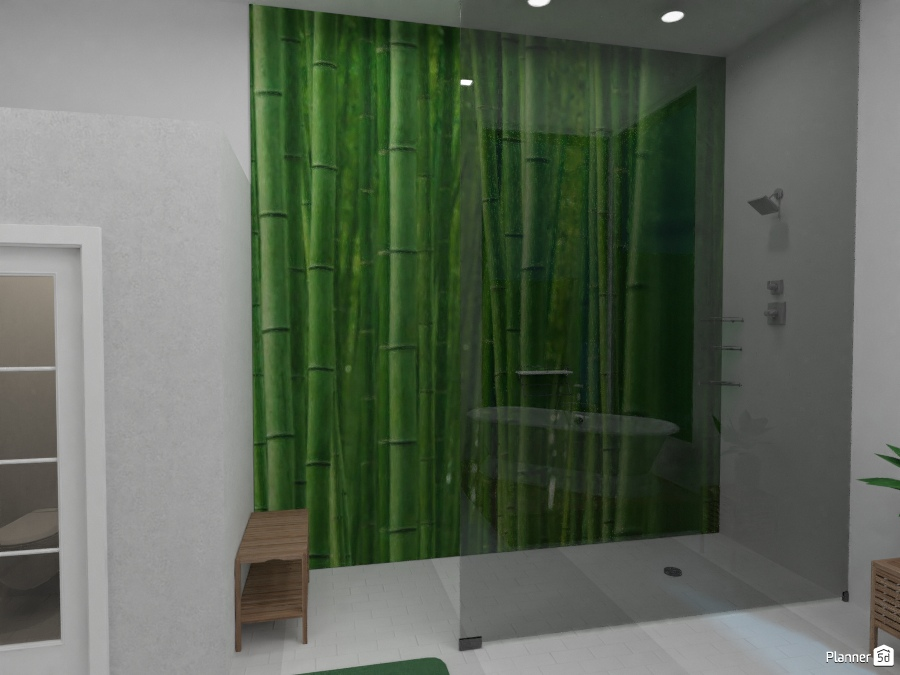 green Modern bathroom 2321367 by Virgo image