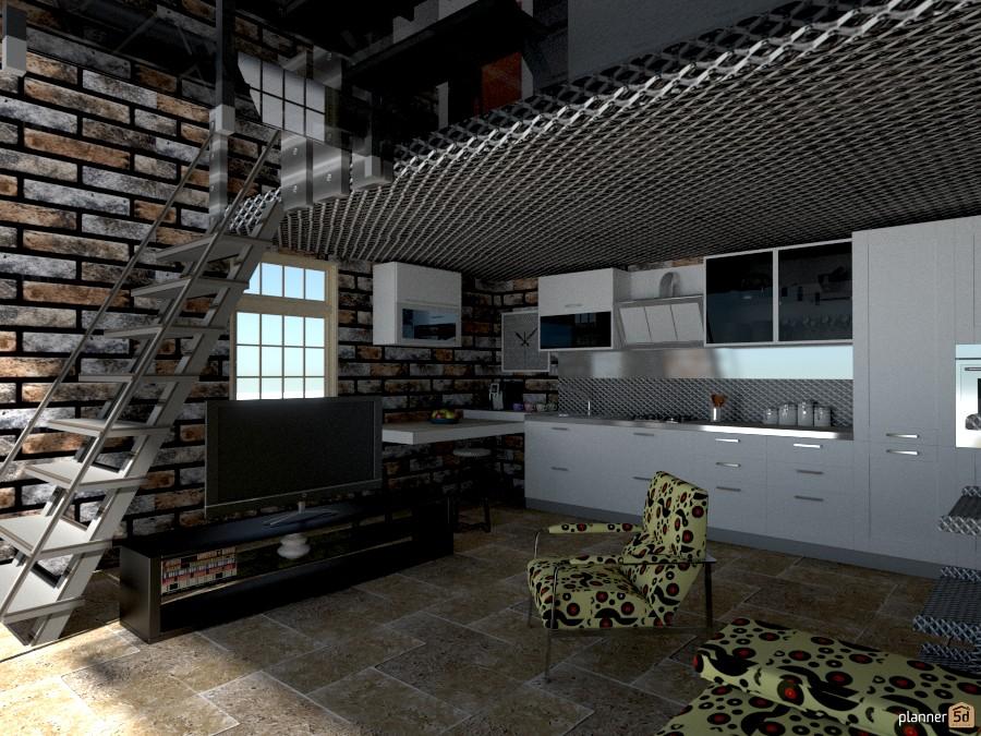 Brick Home for a single 1030488 by Micaela Maccaferri image