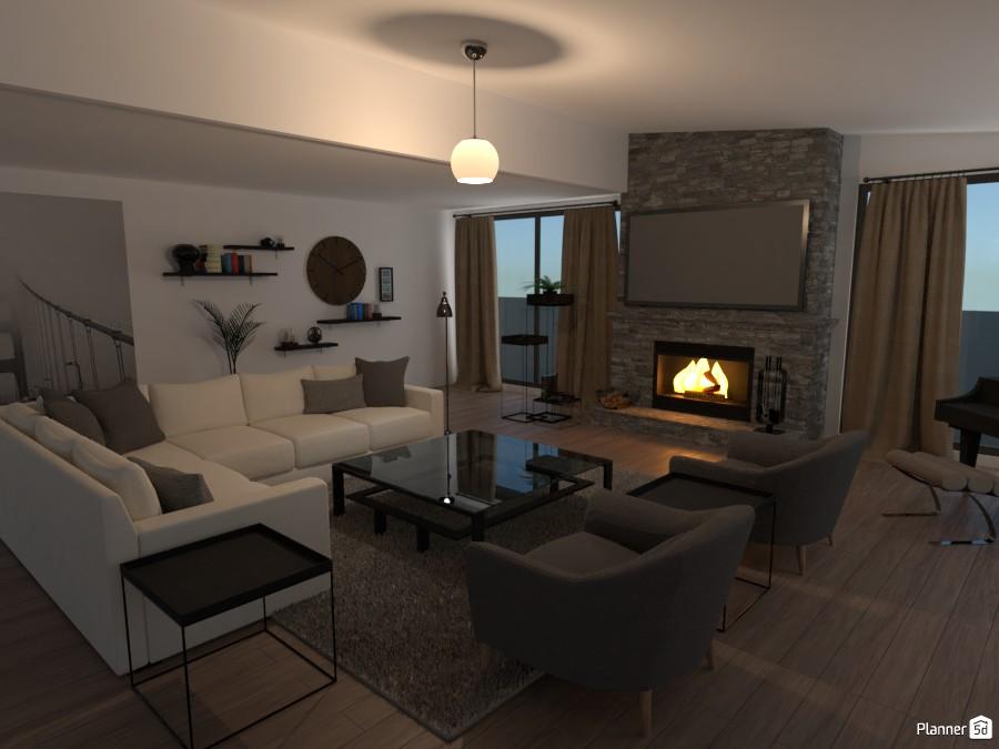 Modern Living Room 3101605 by Kaitlyn Carlson image