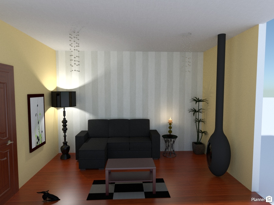 Living cl sico moderno living room ideas planner 5d for Livings clasicos
