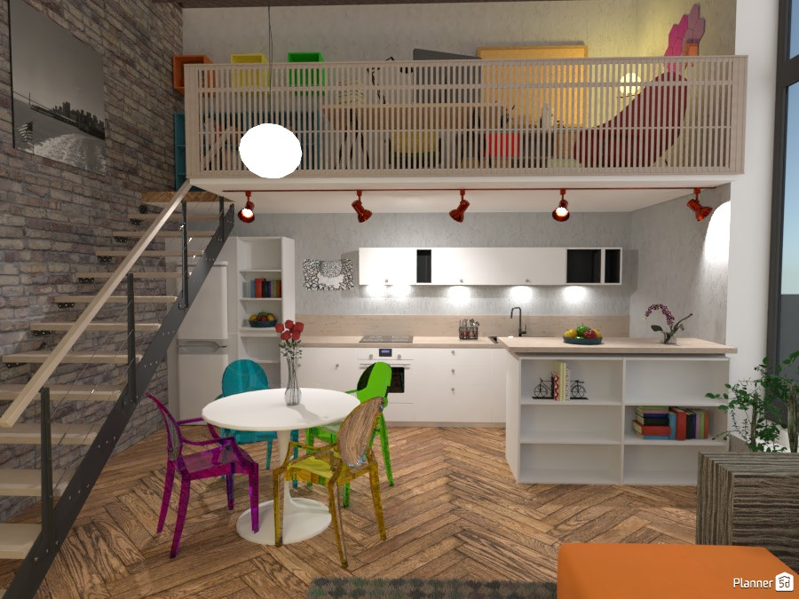 Space over 2 floors #2 3687837 by Moonface image