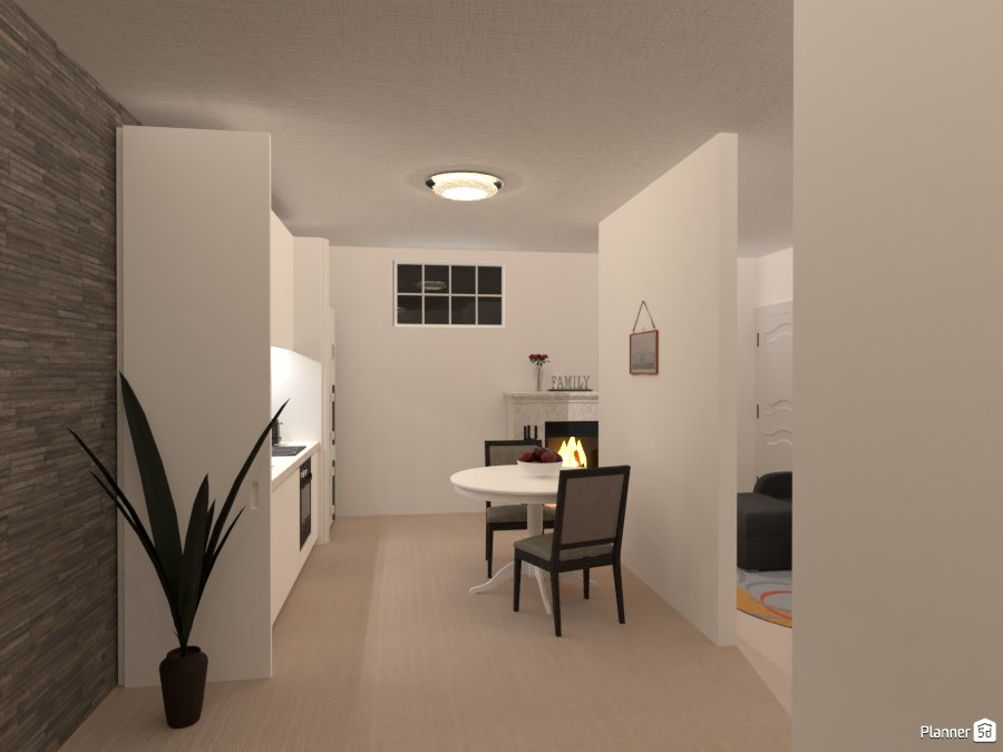 One Story Apartment Finished 4283970 by yves image