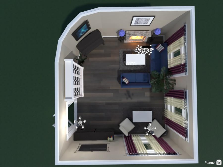 LIVING ROOM WITH A PIANO 82091 by Huzaifah Shaikh image