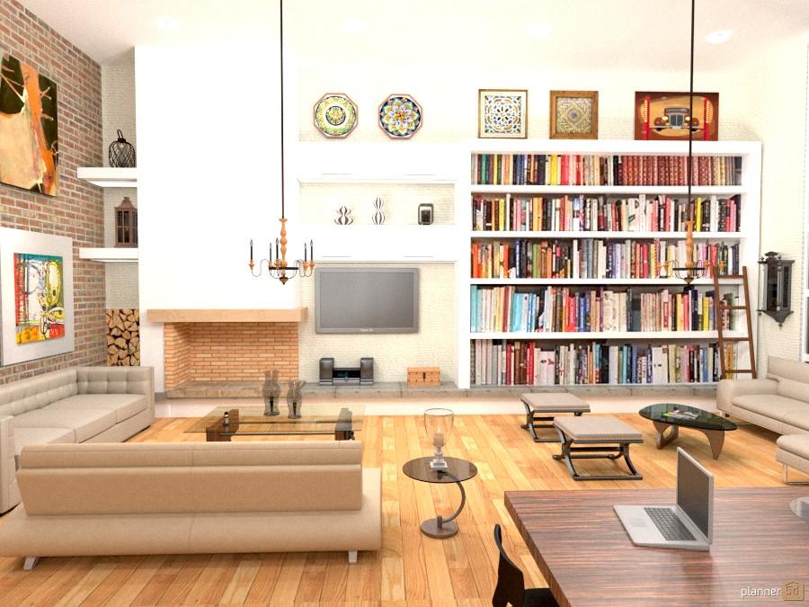 The Moor Street Loft - Apartment ideas - Planner 5D