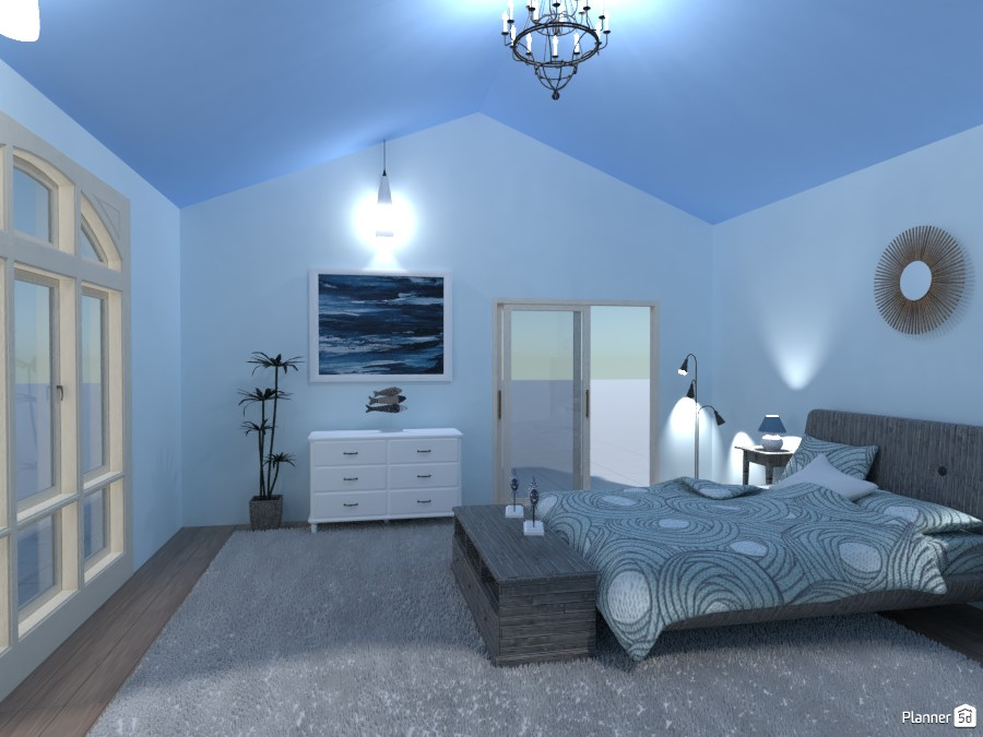 Beach Style Bedroom 4236455 by Bridget image