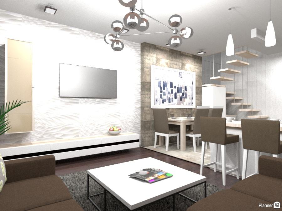 Двухуровневая квартира в Сургуте apartment ideas planner 5d