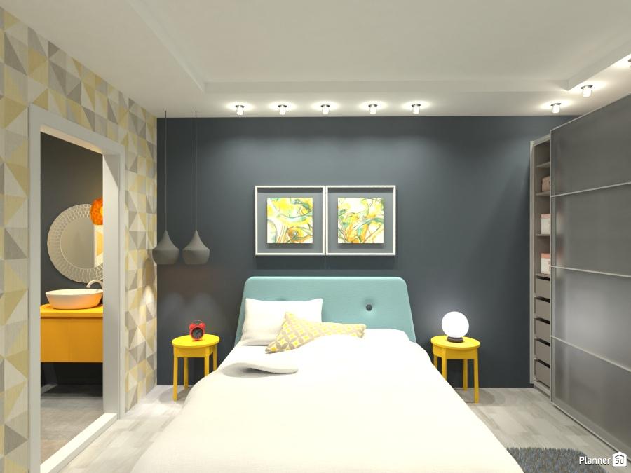 Rinnovare La Camera Da Letto Fai Da Te : Suite apartment ideas planner 5d