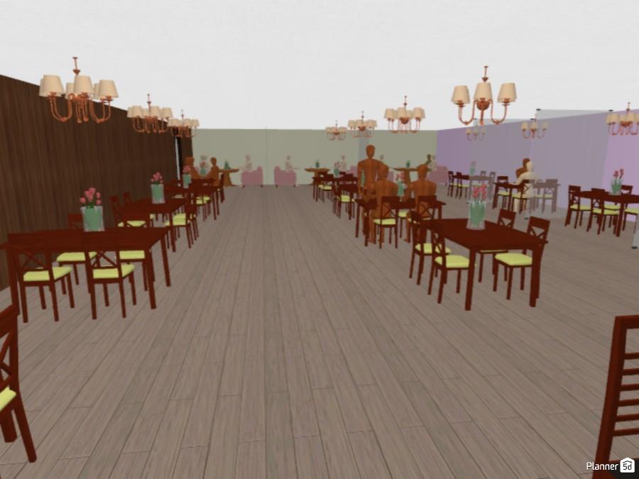 Restaurant Floor Plan - Free Online