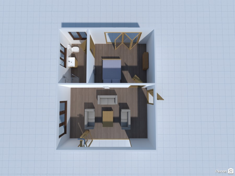 double garage living space 4322394 by User 23414642 image
