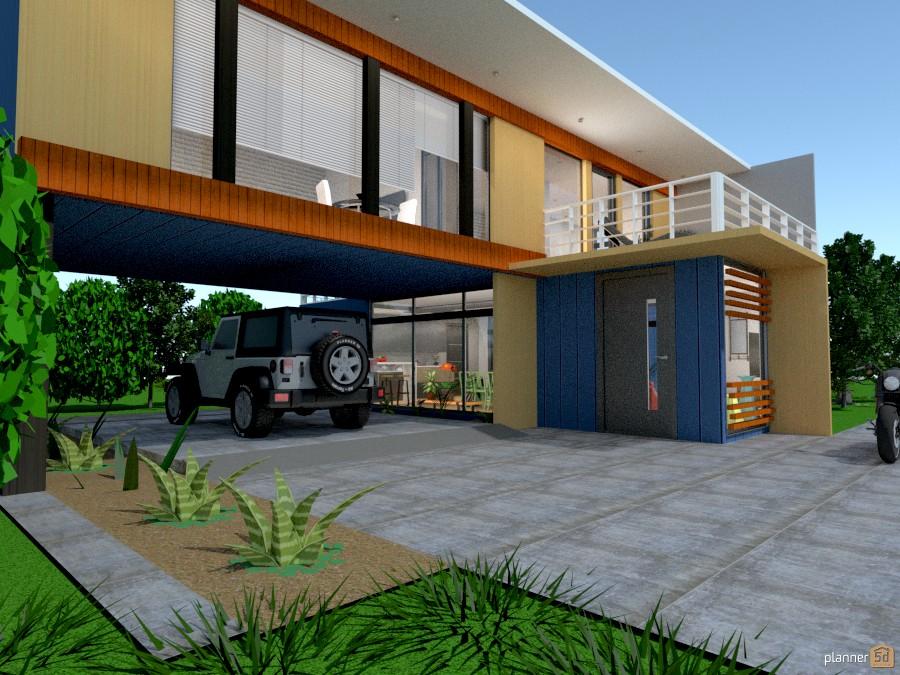 Modern Garage Apartment Interior Design
