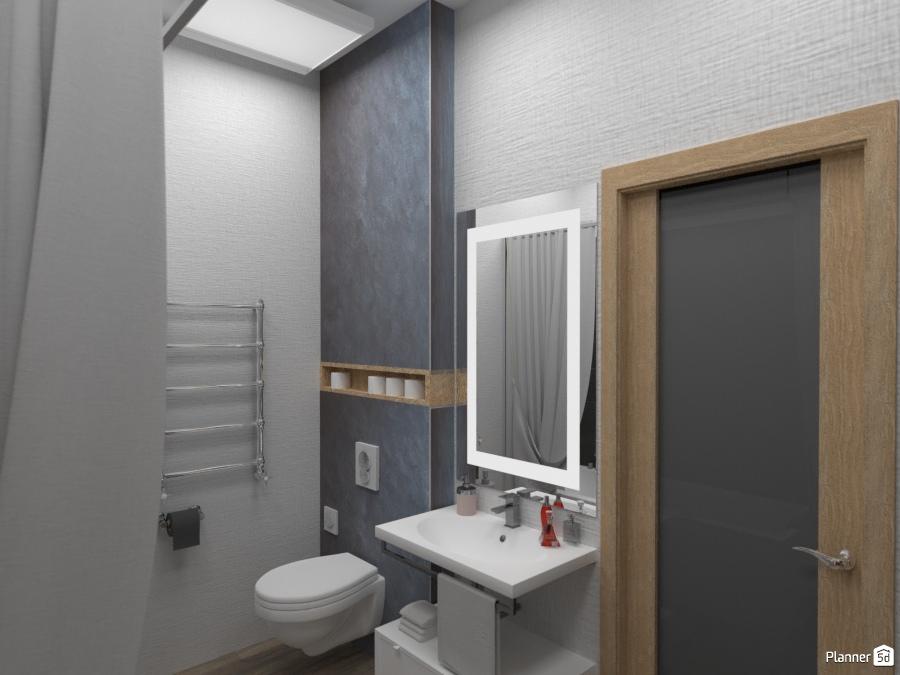 дизайн ванной комнаты Ideas Para Apartamentos Planner 5d