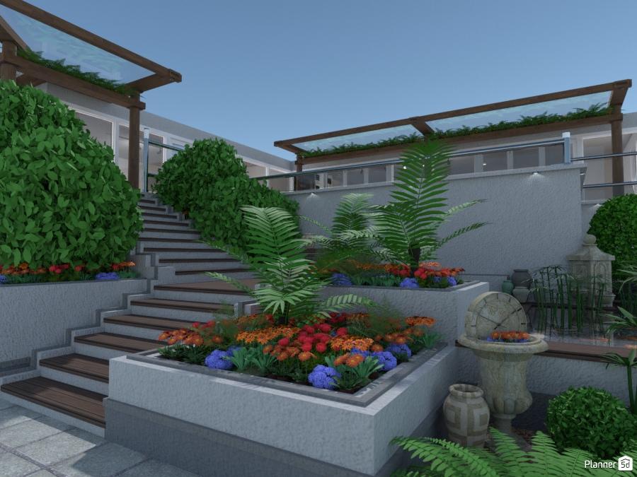 Lower Garden Area. - House ideas - Planner 5D