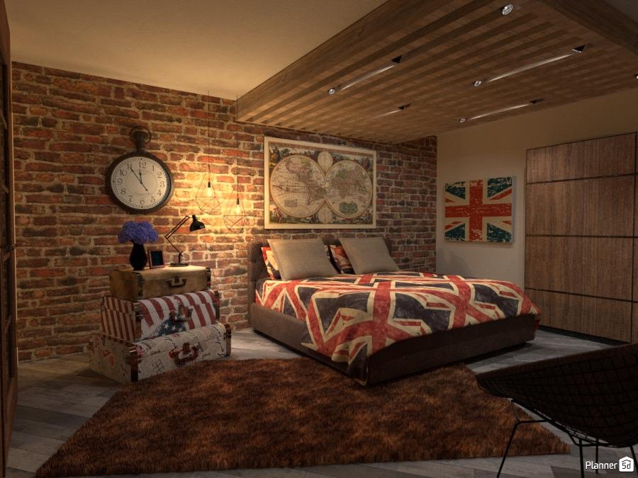 Union Jack Bedroom 2238736 by Fede Lars image