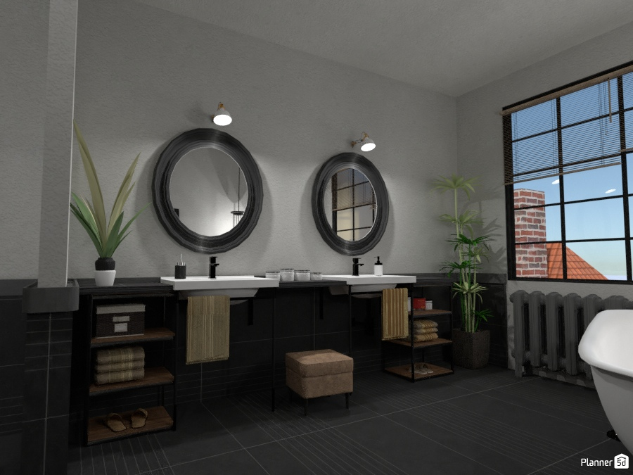 Industrial Point Bath #1 2241487 by Fede Lars image