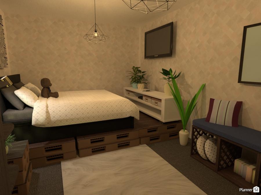 Bedroom Ideas Para Apartamentos Planner 5d