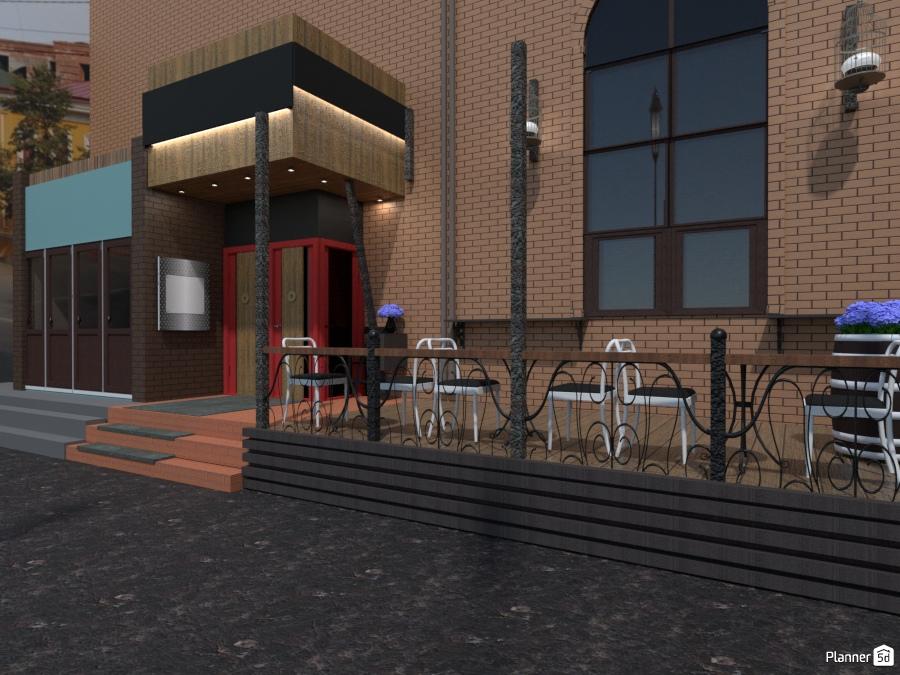 дизайн кафе Ideas Para Casas Planner 5d