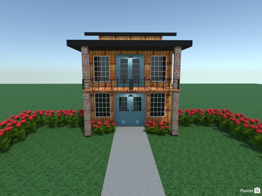 Townhouse N Roses Ideas Para Casas Planner 5d