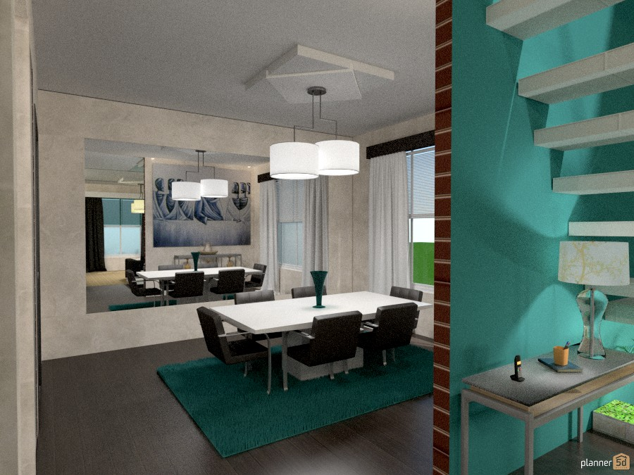 Modern Townhouse 782617 by Michelle Silva image