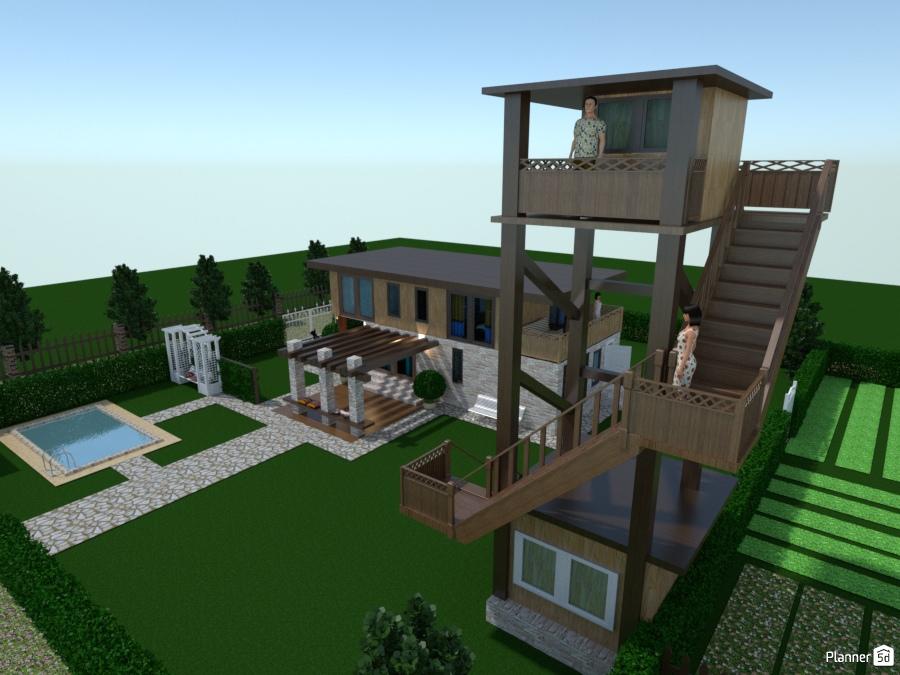 Casa De Dos Pisos House Ideas Planner 5d