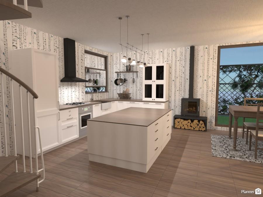 cucina casa piscina 3764013 by Maria image