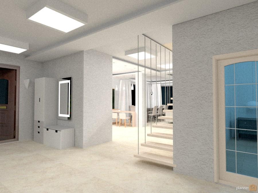 Холл частного дома с мансардой. 1031235 by Ольга Строева image
