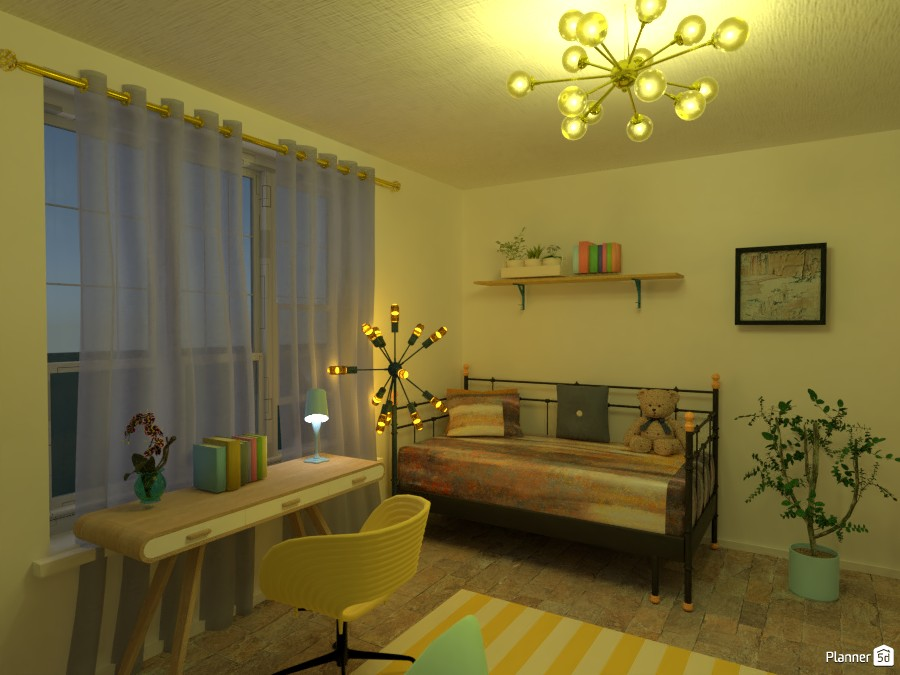 yellow and green rooms 83597 by Menna image