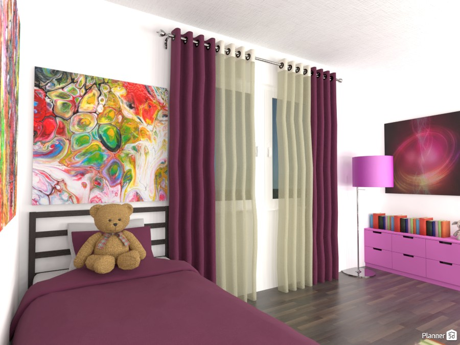 Girls bedroom 82737 by Doggy image