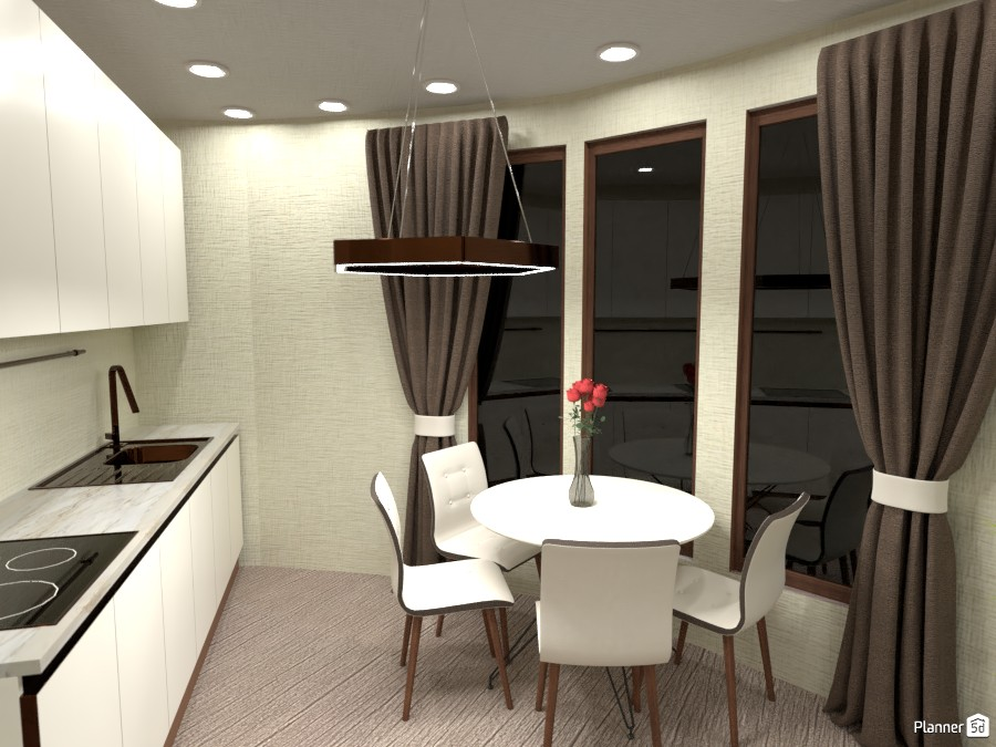 Round House. Kitchen ares 3747128 by Maryna image
