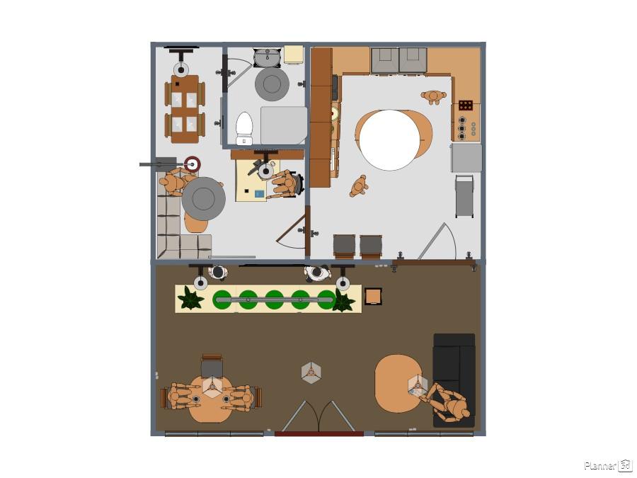 Cafe floorplans planner 5d for 5d cafe