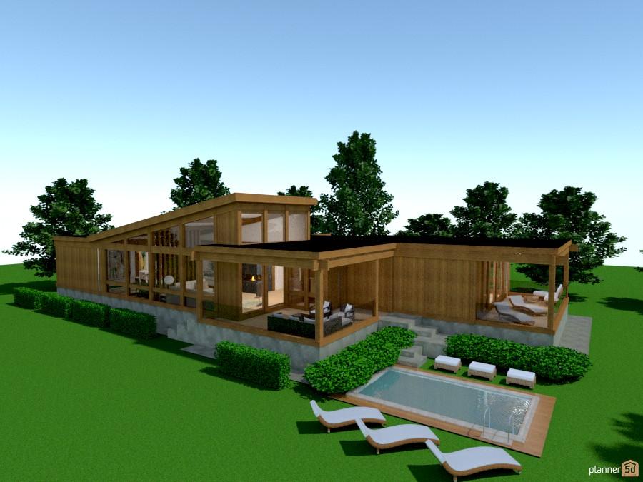 casa in legno 1039234 by Svetlana Baitchourina image