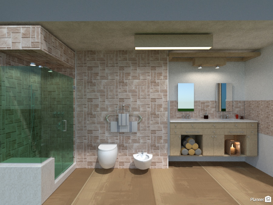 Bagno in pietra idee per appartamenti planner 5d